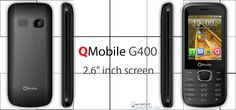 """'QMobile G400', 2.6""""inch screen, for more: http://mobile.shineoflife.com/qmobile-g400.html #mobile #smartphone #news #updates #latest #android #qmobile #qmobileg400"""