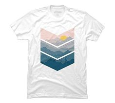 hiking Men's Large White Graphic T Shirt - Design By Humans