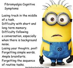 Fibromyalgia Cognitive Symptoms