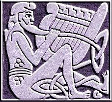 Taliesin - Taliesin o Bardo, foi o druida chefe da corte de Arthur, um dos maiores reis da Inglaterra. Dominava a arte da escrita, a poesia, a sabedoria, a magia e a música. Taliesin é tido como patrono dos druidas, bardos e menestréis.
