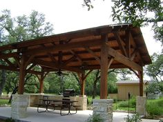 outdoor pavilion would be nice to have  in backyard