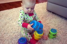 Fine Motor Development: Birth to 3 Years **This information about fine motor development is provided for the Melissa & Doug blog by Cindy Utzinger, pediatric Occupational Therapist.