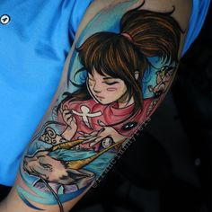 Finalmente: tatuagem geek feita por artistas geeks! - Blog Tattoo2me Estilo Geek, Geeks, Geek Stuff, Portrait, Tattoos, Blog, First Tattoo, Comic Book Characters, Get A Tattoo