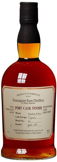 Foursquare Port Cask Finish Rum 2014 Rum (1 x 0.7 l)