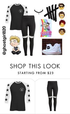 """""""Untitled #45"""" by autumn-geist on Polyvore featuring Converse"""