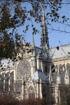 Notre-Dame of Paris Cathedral Cathedrals, Notre Dame, Barcelona Cathedral, Castles, Places To Go, France, Paris, Landscape, Travel