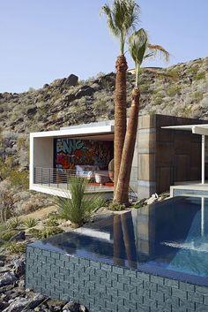 "Modern House Design : On The Rocks   Schmidt Architecture  ""Renovation of a 1959 hillside reside"