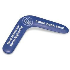 Personalised Small Boomerang has 4 print positions for optimum promotional messages, and will give a great return on your investment. A fun, different promotional item for all sorts of campaign ideas. Express 5 working day lead time is based on a maximum print of 1 colour in 1 position up to 1000 units.