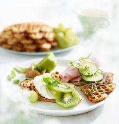 Grove og litt sunnere vafler Ethnic Recipes, Food, Eten, Meals, Diet