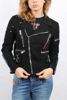 Tripp NYC - Womens Classic Metal Moto Jacket in Black Tripp NYC. $95.95