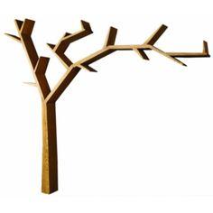 MW Police v tvare stromu - sedliacky nábytok