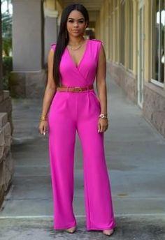 2016 New Fashion Big Women Sleeveless Maxi Overalls Belted Wide Leg Jumpsuit Plus Size Long Pant Elegant Jumpsuits Free Belt