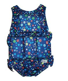 Another great find on #zulily! Blue Dots & Daisy Flotation Suit - Infant & Toddler #zulilyfinds