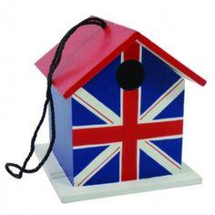 British flag (Union Jack) birdhouse