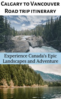 If you're visiting Canada, this is an absolute must-do experience. Calgary, Banff and Vancouver are Backpacking Canada, Canada Travel, Canada Trip, Cool Places To Visit, Places To Travel, Travel Destinations, Amazing Destinations, Holiday Destinations, Vancouver Island
