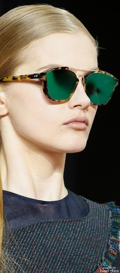 350765a4da5 Christian Dior Fall 2015 RTW Dior Sunglasses