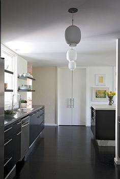 wonderful modern kitchen.  angie hranowsky