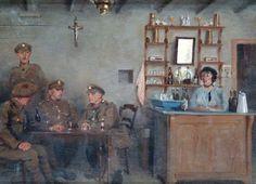 The Estaminet, by Haydn Reynolds Mackey, 1918-19.
