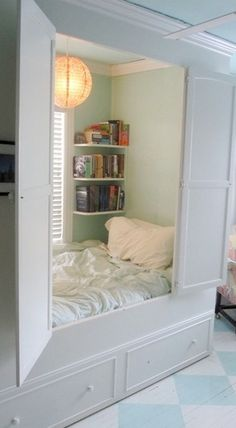 Relaxing reading nook