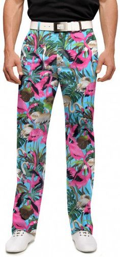 Pink Flamingos Men's Pant
