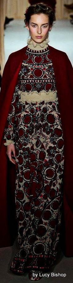VALENTINO Spring Summer Haute Couture 2015/16 ~ PFW