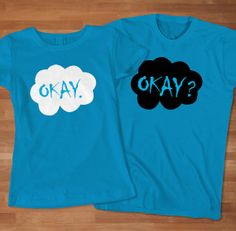 The Fault in Our Stars Couple's TShirt Awesome by Sarimbittees, $32.00