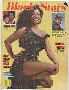 Chaka Khan Black Stars magazine up Jet Magazine, Black Magazine, Black Power, Black Girl Magic, Black Girls, Ebony Magazine Cover, Magazine Covers, Chaka Khan, Vintage Black Glamour