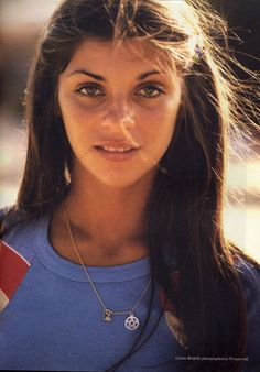 Carine Roitfeld back in the day. Gorgeous.
