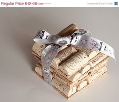 SALE Wine Cork Coasters Set of 4 Wine Cork Crafts, Engagement Gift Ideas , Wedding Decor, Just Married, Wedding Gift, Wedding Favor by MaxplanationPhotos on Etsy