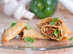 Receta   Empanadilla de champiñones - canalcocina.es