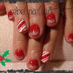christmas by rebelnailart   #nail #nails #nailart