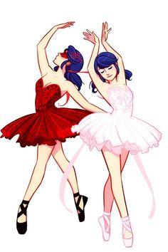 (BalletAU!Miraculous: Tales of Ladybug and Cat Noir) Ladybug/Marinette Dupain-Cheng