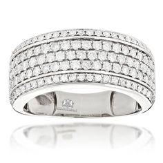Diamond Men's Rings - Stainless Steel, Gold, Titanium & More - Overstock.com Shopping