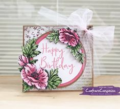She's a Color Queen! #crafterscompanion #spectrumnoir #ccgemini #hsncrafts #sheenadouglass #birthdaycard