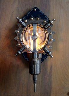 Steampunk Lighting Design | Found On Steampunkworkshop.com