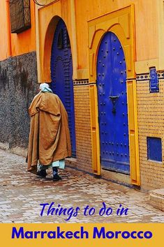 Best things to do in Marrakech, Morocco. Enjoy shopping in the souks (shops) in the old town, taste some tagine, and discover the spice market. Click to find out more! @venturists