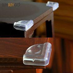 10st Fashion Baby Safety Silicone Transparent Protector Bordhörna Barnskydd PVC  Mjuka Anti-Collision Corner Guards 48435aafd1c15