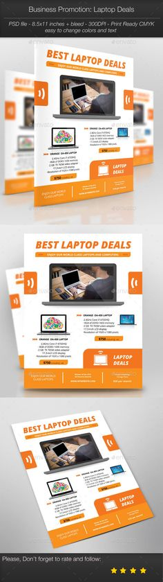 Business Promotion: Laptop Deals