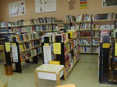 Sala de la Biblioteca Infantil y Juvenil.
