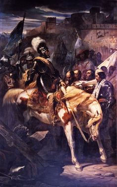 King Henri IV's triumphant entry into Montmélian, French War of Religion