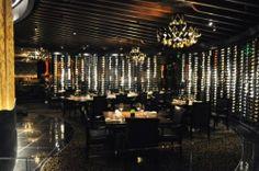 Contemporary and Romantic Fine Dining Restaurant Interior Design of Jean Georges Steakhouse, Las Vegas Dining Room www. Ten Restaurant, Organic Restaurant, Restaurant Interior Design, Home Interior Design, Dining Room Furniture, Dining Rooms, Fine Dining, Las Vegas, Resorts