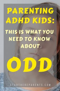 This Is What You Need To Know About ADHD And ODD In Kids - A substantial number of ADHD kids go on to develop the very challenging disruptive behavior disorde - Natural Treatment For Adhd, Odd Disorder, Disorders, Adhd Diagnosis, Adhd Odd, Adhd Signs, Oppositional Defiant Disorder, Adhd Strategies, Adhd