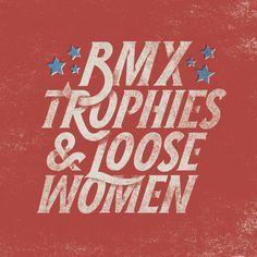 BMX - goffgough - Impressive typography in this portfolio