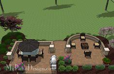 Beautiful Backyard Patio | Outdoor Fireplaces & Fire Pits