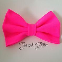 Malibu barbie hair bow