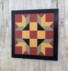Primitive Style Barn Quilt