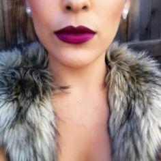 Plum lips.love purple lipsticks