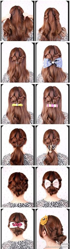 Lovely hairstyles