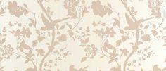Oriental garden wallpaper, chalk pink by Laura Ashley Pearl Wallpaper, Flower Wallpaper, Pattern Wallpaper, Wallpaper Ideas, Wallpaper Borders, Wallpaper Quotes, Dandelion Wallpaper, Wallpaper Designs, Beautiful Wallpaper