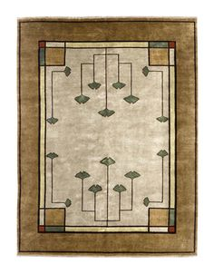 The Persian Carpet's ever-popular 'Ginkgo' pattern.